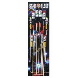 Star Fleet Rockets Pack of 10
